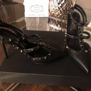 Valentino rockstar pumps black 38